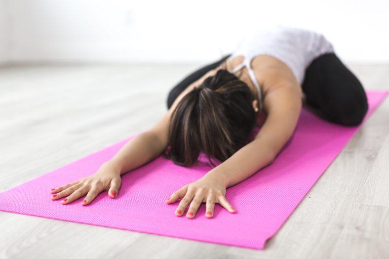 nighttime yoga for sleep