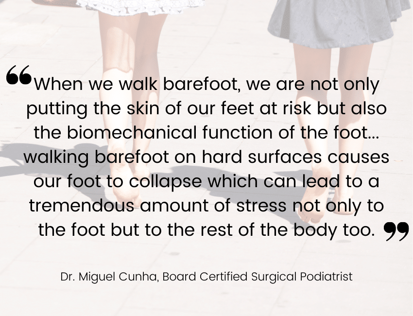 walking-barefoot-causes-sore-feet